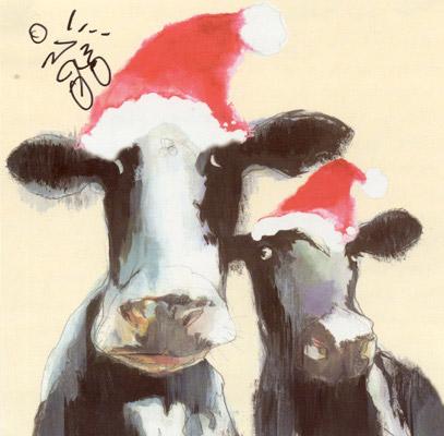 Moo-rry Christmas