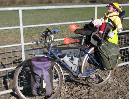 Farm gates make useful headrests