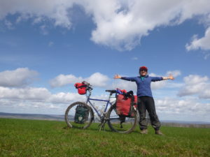 and it was lovely to be free on top of the Downs with big wide skies.