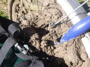 Mud...