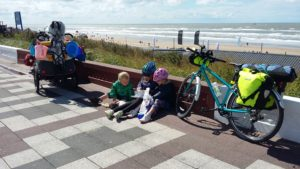 A kibbling and chips stop (Dutch version of fish and chips). Zandvoort.