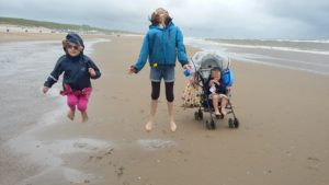 We kept to the windy and...